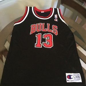 Chicago Bulls Luc Longley Champion Jersey Youth